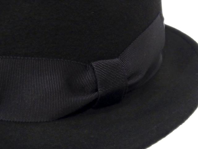【KNOWLEDGE(ナレッジ)オリジナル】 Teardrop Felt Standard(日本製) カラー:ブラック