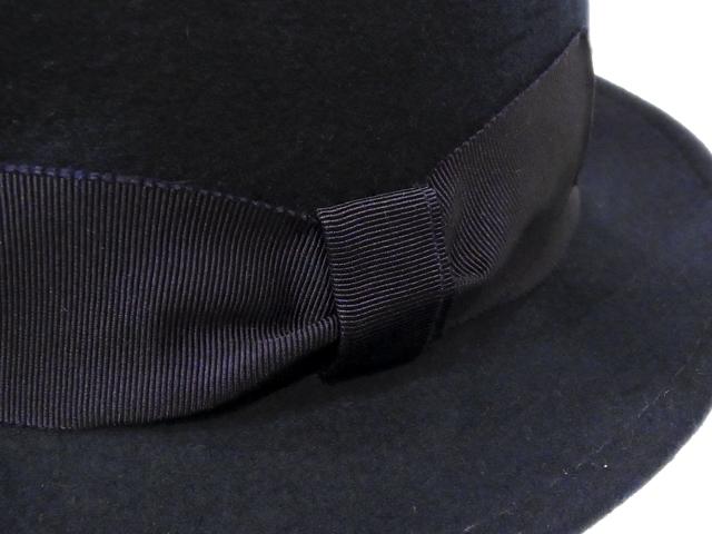 【KNOWLEDGE(ナレッジ)オリジナル】 Teardrop Felt Standard(日本製) カラー:ネイビー