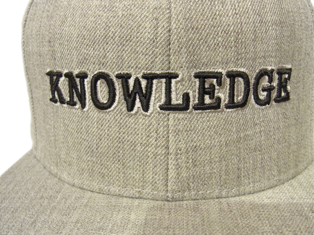 【KNOWLEDGE(ナレッジ)オリジナル】 KNOWLEDGE Baseball Cap 2015AW カラー:グレー