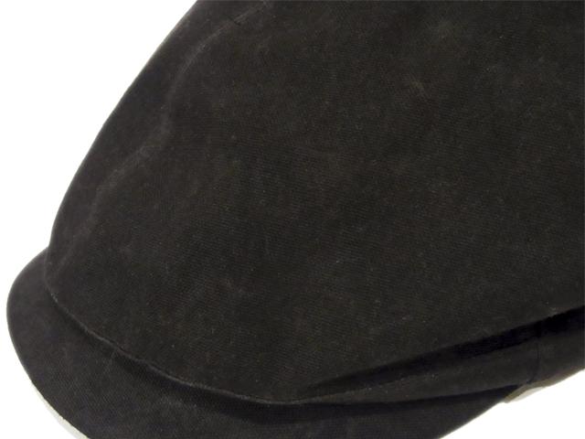 【KNOWLEDGE(ナレッジ)】 Oild Cloth Six Hunting(日本製) カラー:ブラック