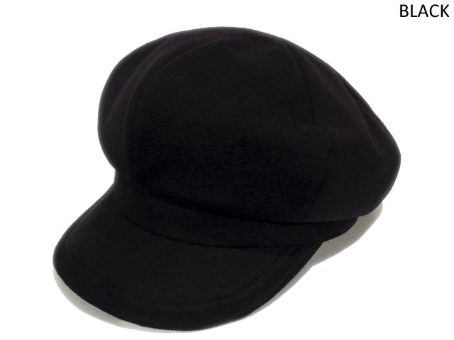 【KNOWLEDGE(ナレッジ)】 Big Sweat Wide Casquette(日本製) カラー:ブラック