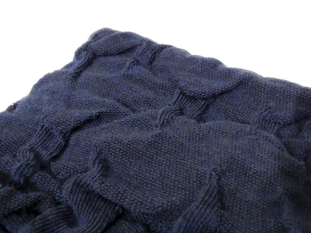 【KNOWLEDGE(ナレッジ)オリジナル】 Linen Headband(日本製) カラー:ブルー