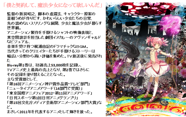 帽子屋KNOWLEDGE(ナレッジ)×「魔法少女まどか☆マギカ」